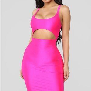 Cut to the chase fashion nova dress